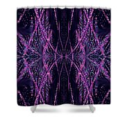 Glitter Explosion Shower Curtain