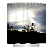 Gloaming Epiphany Shower Curtain