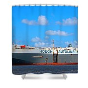 Global Carrier Shower Curtain