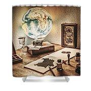 Globe Shower Curtain