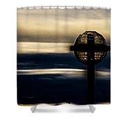 Globe Lamp Shower Curtain