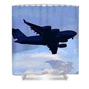 Globe Master Shower Curtain