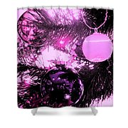 Globes Shower Curtain