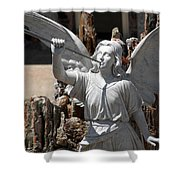 Gloria In Excelsis Deo Shower Curtain