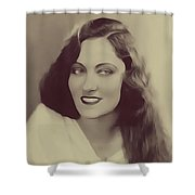 Gloria Swanson, Vintage Actress Shower Curtain