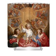 Glorification Of The Name Of Jesus Shower Curtain