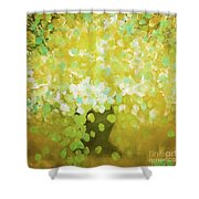 Glorious Flowers Shower Curtain