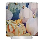 Glorious Gourds Shower Curtain