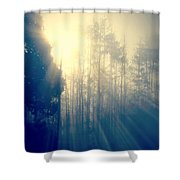Glorious Morning Light Shower Curtain