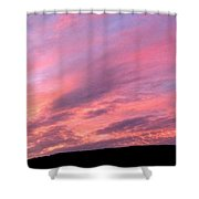 Glorious Nightfall  Shower Curtain