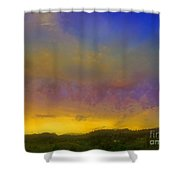 Glorious Skies Shower Curtain