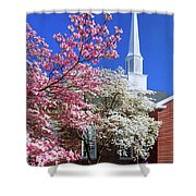 Glorious Sunday Morning In Spring Shower Curtain