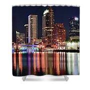 Glorious Tampa Bay Florida Shower Curtain