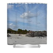 Glory Beach Shower Curtain