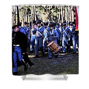 Glory Bound Shower Curtain by David Lee Thompson