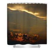 Glory Cloud Shower Curtain