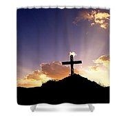 Glory Of Christ  Shower Curtain