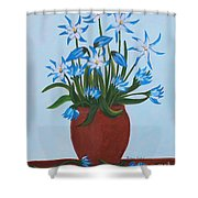 Glory Of The Snow Shower Curtain
