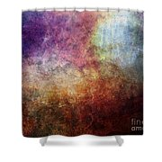 Glory Oil Abstract Painting Shower Curtain