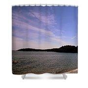 Gloucester Beach Shower Curtain