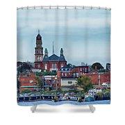 Gloucester Harbour Shower Curtain