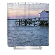 Gloucester Sunset Shower Curtain