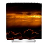 Glourious Sunrise Shower Curtain