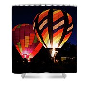 Glow 1 Shower Curtain