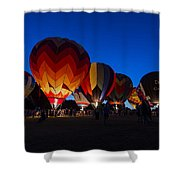 Glow 2015 Shower Curtain