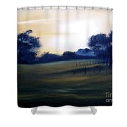 Glow Of Morn. Shower Curtain