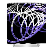 Glow Stix Shower Curtain