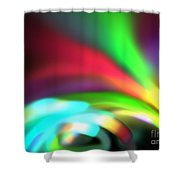 Glowing Arches Shower Curtain
