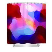 Glowing Light Shower Curtain