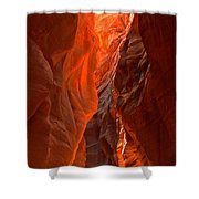 Glowing Walls Of Buckskin Gulch Shower Curtain