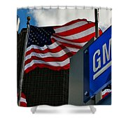 Gm Flags Shower Curtain