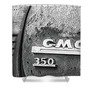 Gmc 350 Tag Bw Shower Curtain