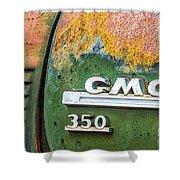 Gmc 350 Tag Shower Curtain