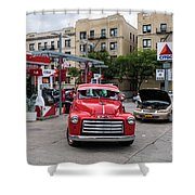 Gmc Pickup Shower Curtain