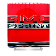 Gmc Sprint 001 Shower Curtain