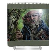 Gnome Wizard Shower Curtain