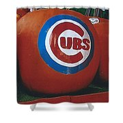 Go Cubs Chicago Celebrates Shower Curtain