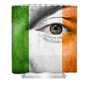 Go Ireland Shower Curtain by Semmick Photo