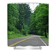 Go Where It Takes Us Shower Curtain