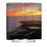Go With The Flow Shower Curtain