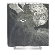 Goat And Nux Shower Curtain