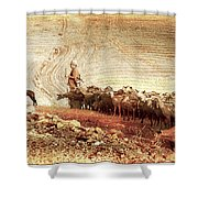 Goatherd Shower Curtain