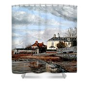 Goats Walk Topsham Devon Shower Curtain