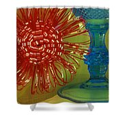 Goblet Bow Shower Curtain
