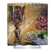 Goblet Shower Curtain