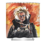 Goblin King At His Best Shower Curtain